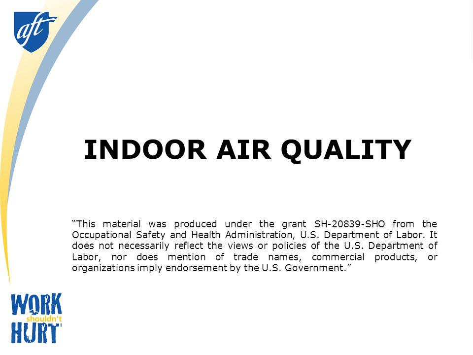 So How Does a Local Union Address an IAQ Issue? 12 Unit ventilator HVAC Unit
