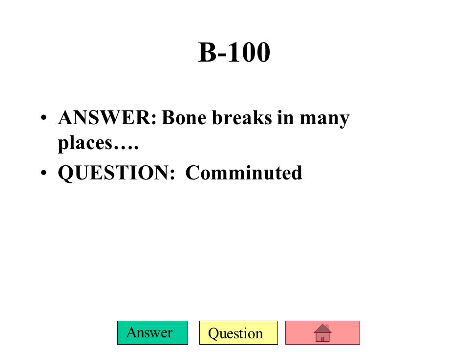 Question Answer A-500 ANSWER: Examples of these joints are the ribs and vertebrae….
