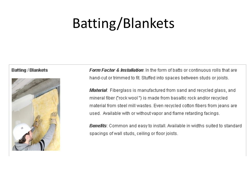 Batting/Blankets