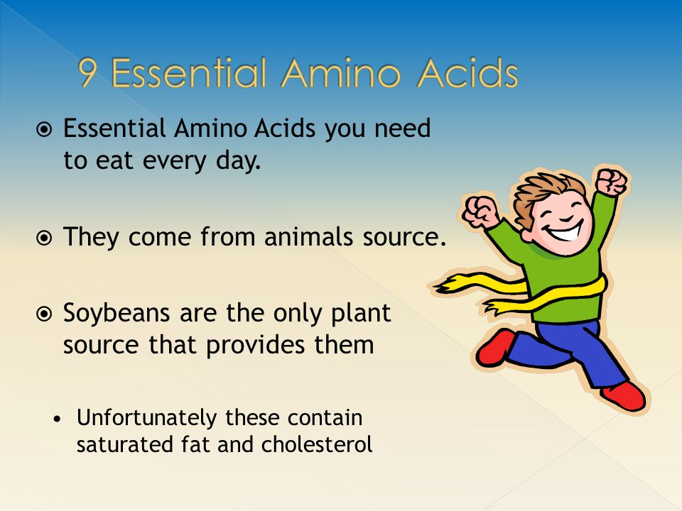  Essential Amino Acids you need to eat every day.