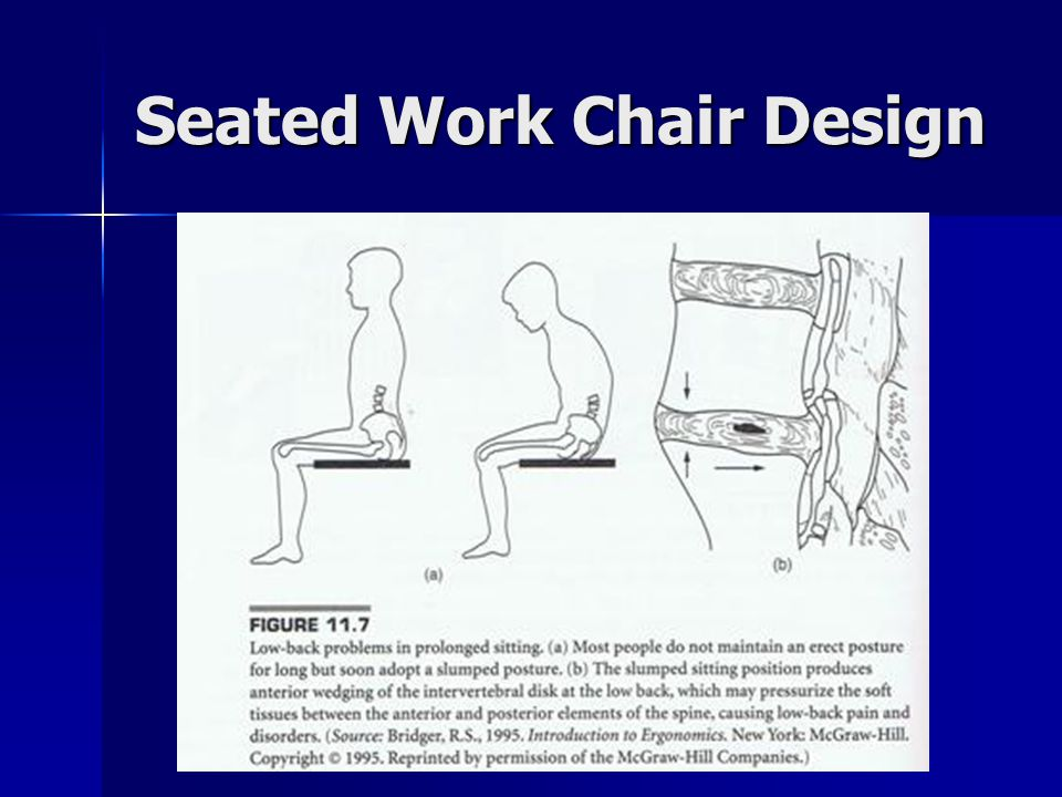 Seated Work Chair Design