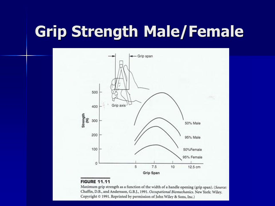 Grip Strength Male/Female