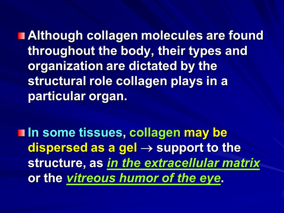 Lecture 8 Contents: Degradation of collagen Collagen diseases (Osteogenesis Imperfecta) (Osteogenesis Imperfecta)