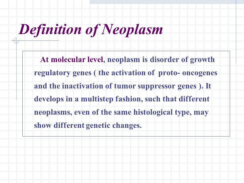 Differentiation and Anaplasia Neoplasm differentiation denotes the degree to which a neoplasm cell resembles the normal mature cells of the tissue both morphologically and functionally.