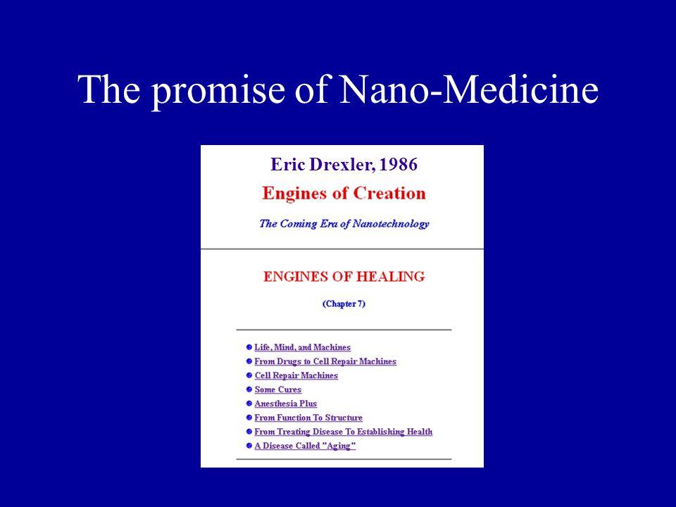 The promise of Nano-Medicine Eric Drexler, 1986