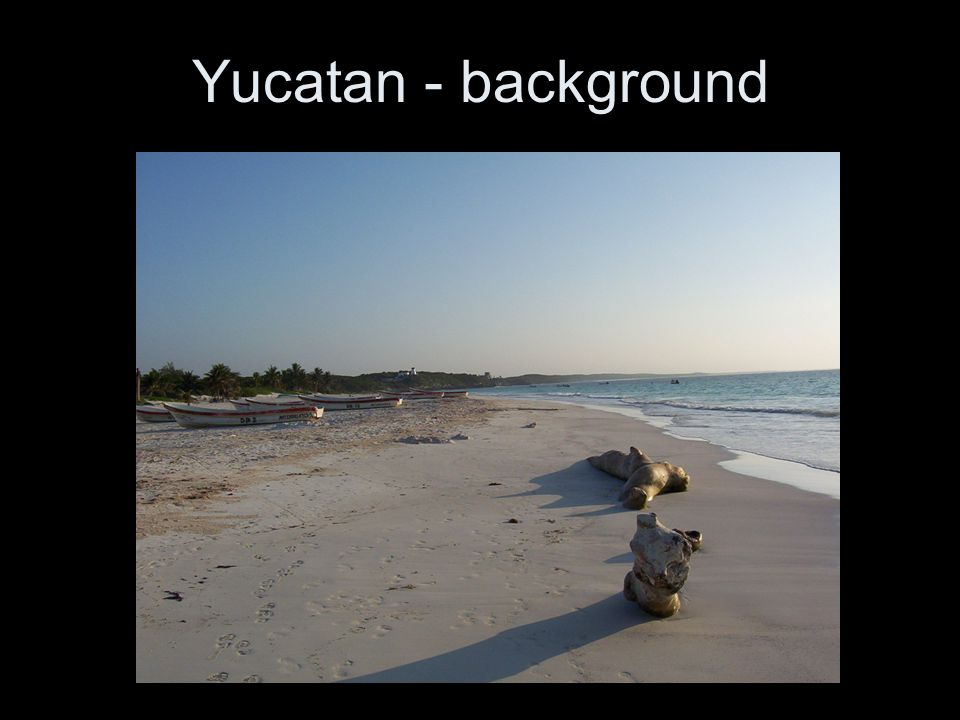 Yucatan - background
