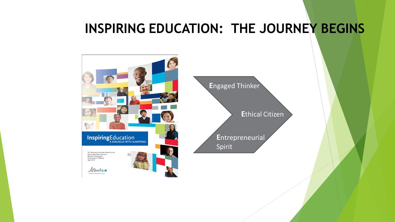 INSPIRING EDUCATION: THE JOURNEY BEGINS