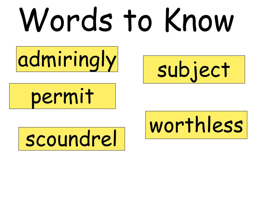 Vocabulary Strategy for Multiple-Meaning Words 3.Reread the sentence, replacing the work with one of the meanings.