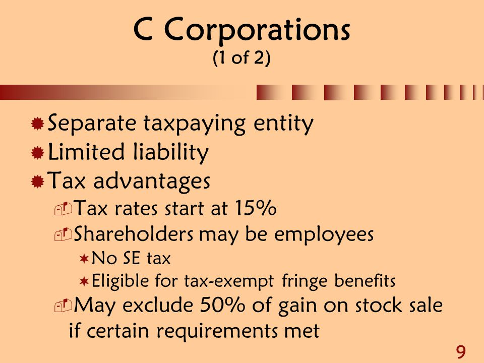 30 Worthless Stock or Debt (1 of 3)  Investment evidenced by a security that becomes worthless produces a capital loss on last day of tax year  Securities include:  Stock of a corporation  Rights to subscribe for stock to be issued  Evidence of indebtedness