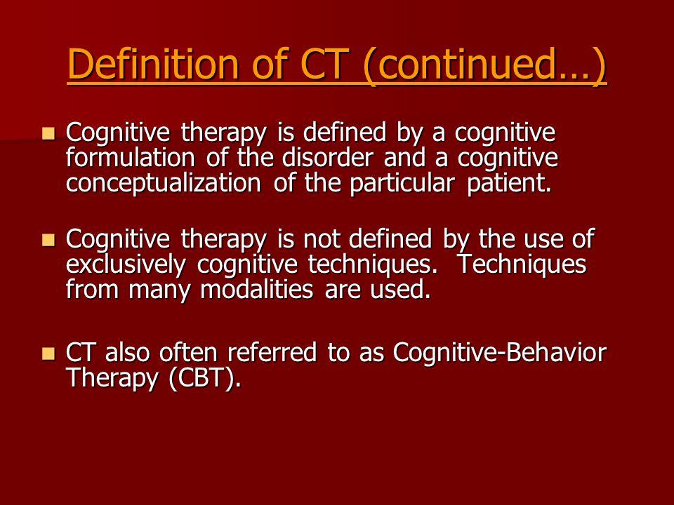 Core Beliefs Core beliefs underlie and produce automatic thoughts.