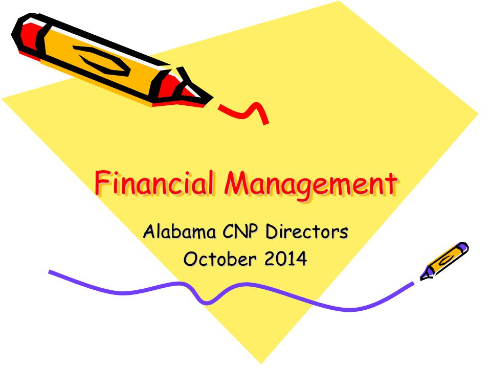 Financial Management Alabama CNP Directors October 2014