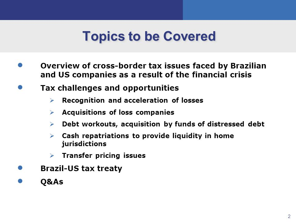 13 Claim and Acceleration of Offshore Tax Losses Scenario 4: Trading Losses USCo Financial Markets 4A4B Position (e.g., BRL) with significant loss Brazilian Co Financial Markets Position (e.g., USD) with significant loss
