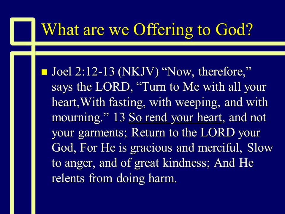 We must see God anew n Whose glory do you see? (2 Cor 4:3-6) n How the knowledge of God renews us.