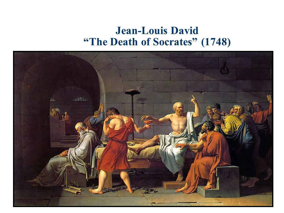 Jean-Louis David The Death of Socrates (1748)