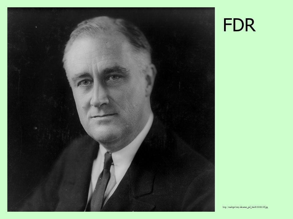 D. The United States The US is hit the hardest by the depression, more than 12 million were unemployed in 1933. President Franklin Delano Roosevelt (F