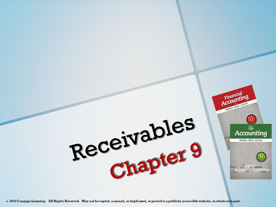 Characteristics of Notes Receivable o A note receivable, or promissory note, is a written document containing a promise to pay.
