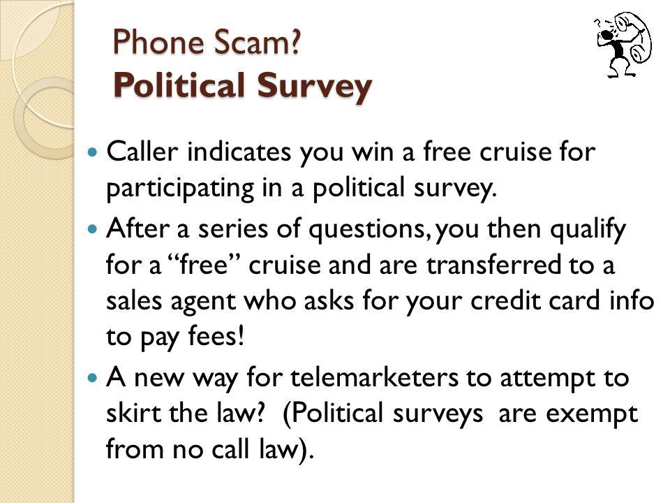 Phone Scam.