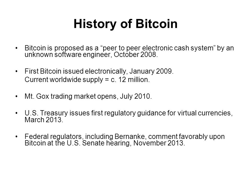 Bitcoin's appeal Bitcoin's value cannot be debased by any government.