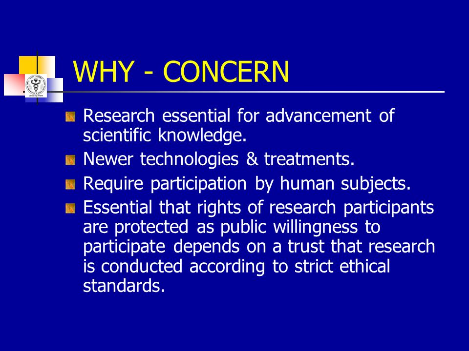 Mandatory that all proposals on biomedical research involving human subjects are cleared by the institutional ethics committee.