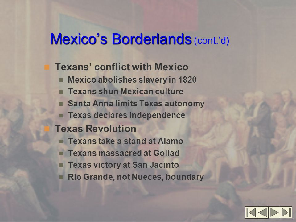 Discussion Questions How did Texas gain its independence.