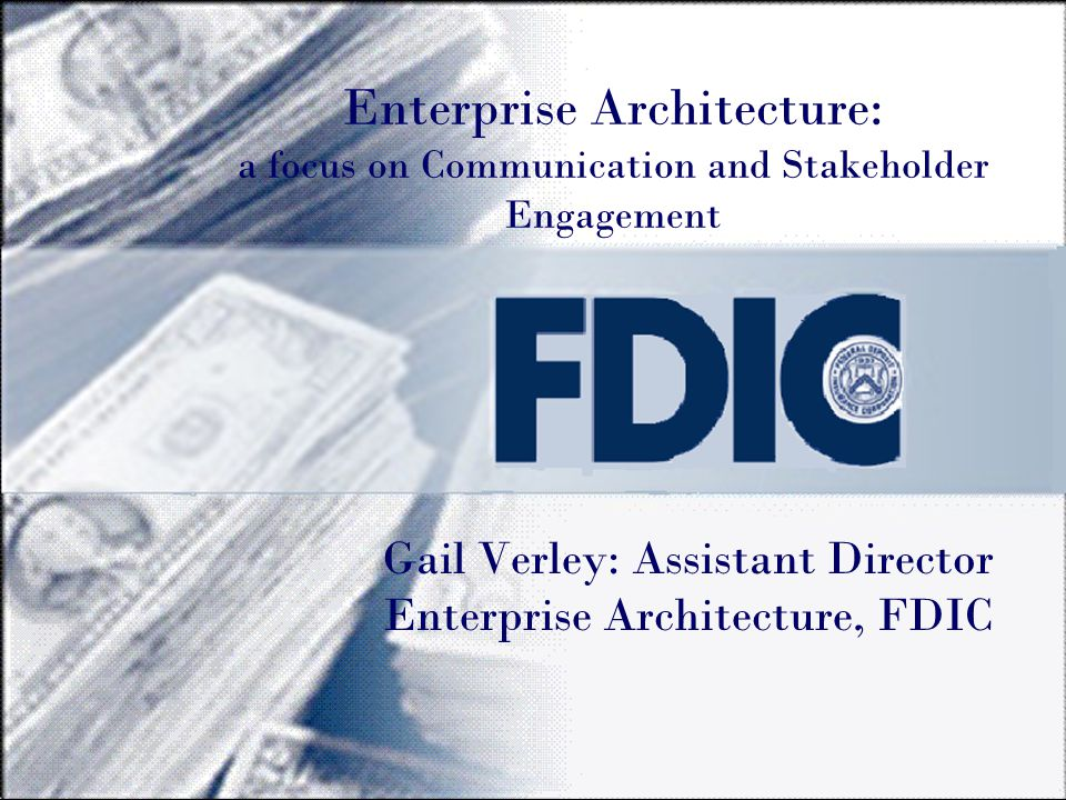 FDIC Governance Bodies Capital Investment Review Committee (CIRC) CIO Council Enterprise Architecture Board (EAB) Collaborative Working Groups (CWG) Internet Coordinators Group Information Security Management Committee Technical Review Group Enterprise Architecture Advisory Forum