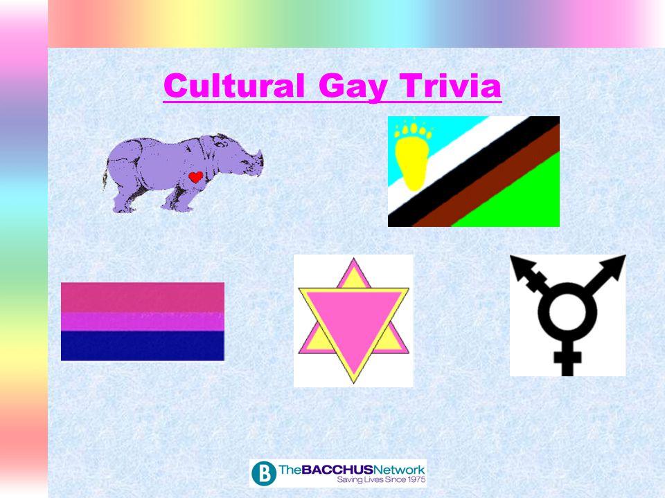 Cultural Gay Trivia