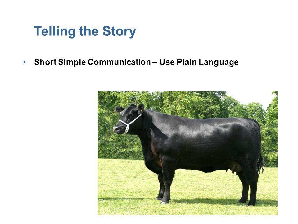 18 Telling the Story Short Simple Communication – Use Plain Language