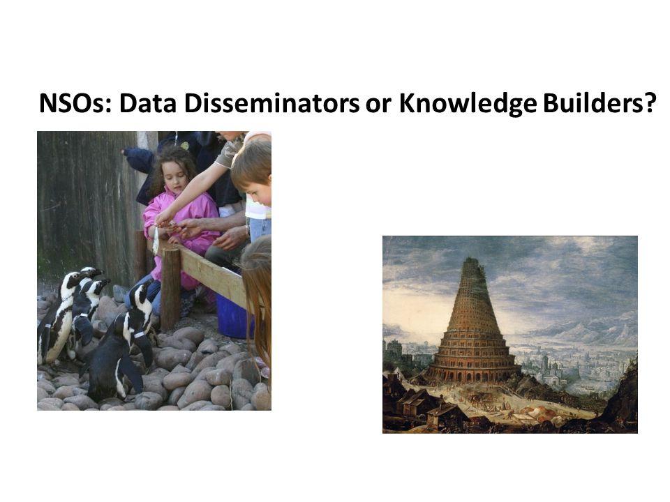 NSOs: Data Disseminators or Knowledge Builders