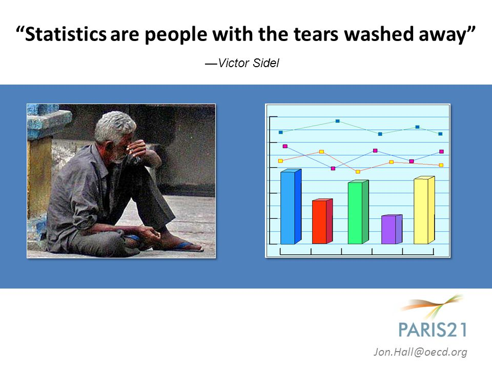 Statistics are people with the tears washed away Jon.Hall@oecd.org —Victor Sidel