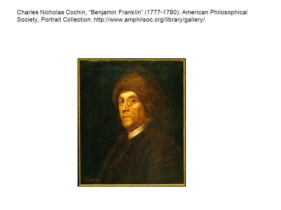 Charles Nicholas Cochin, Benjamin Franklin (1777-1780).