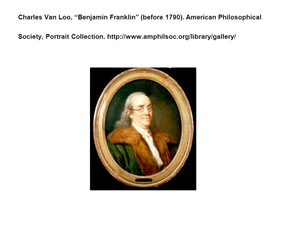 Charles Van Loo, Benjamin Franklin (before 1790).