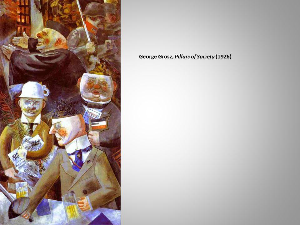 George Grosz, Pillars of Society (1926)