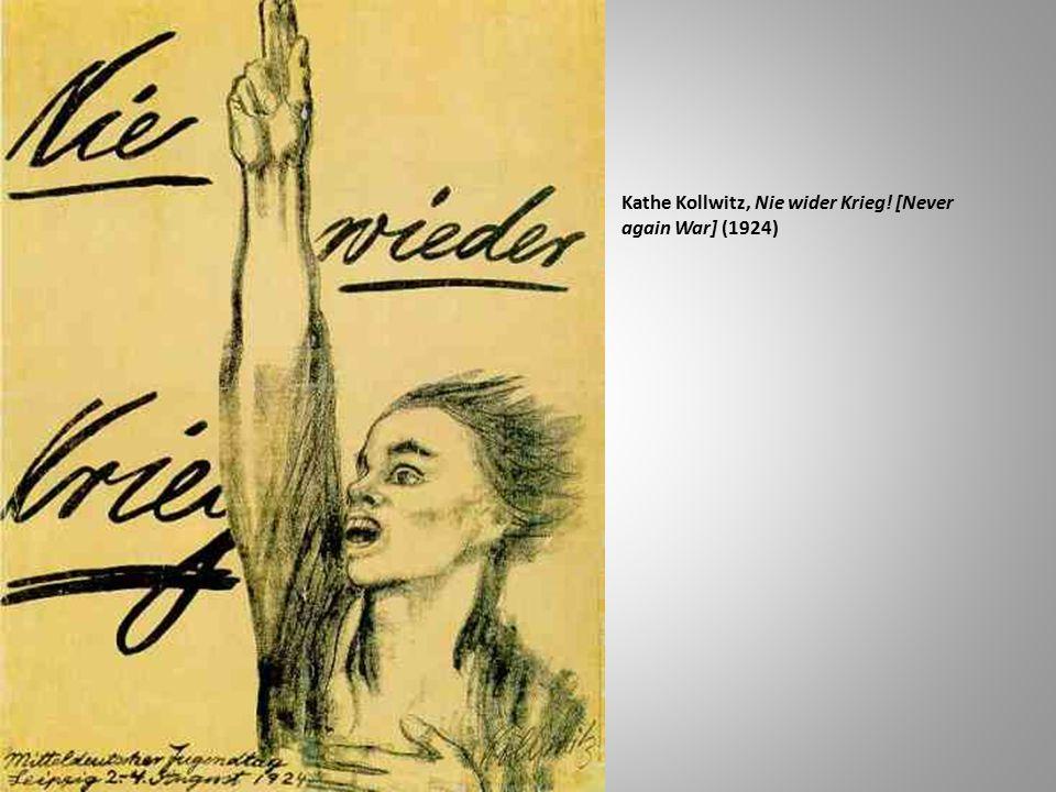 Kathe Kollwitz, Nie wider Krieg! [Never again War] (1924)