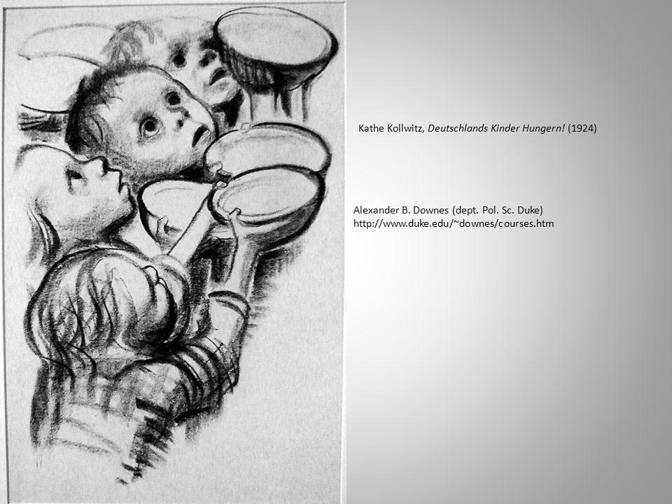 Kathe Kollwitz, Deutschlands Kinder Hungern. (1924) Alexander B.