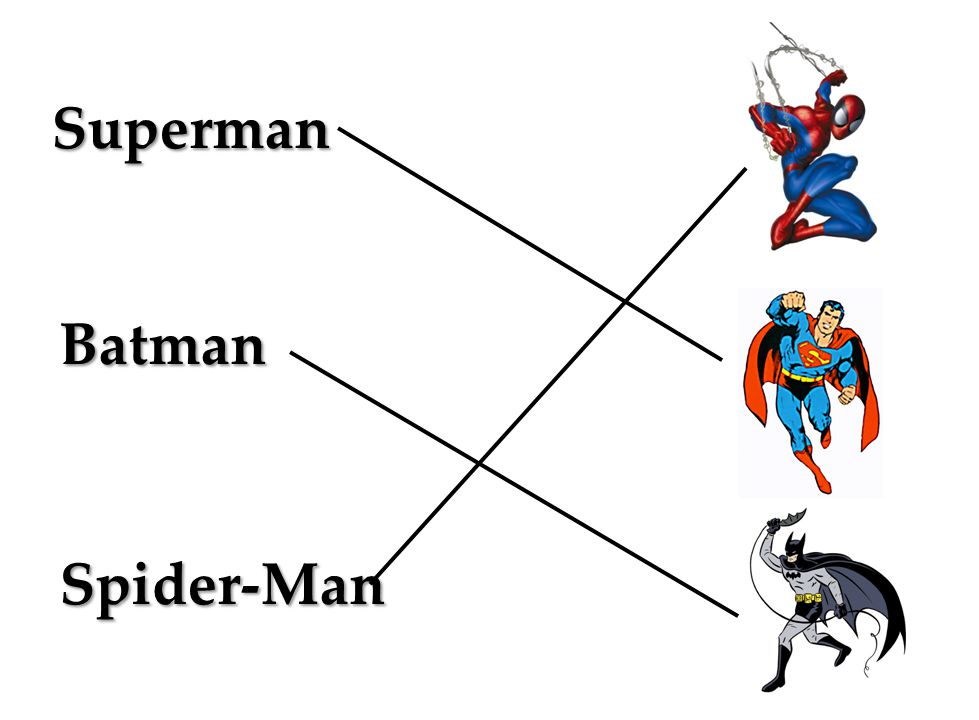 Superman Batman Spider-Man