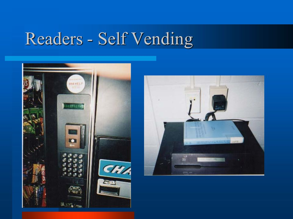 Readers - Self Vending