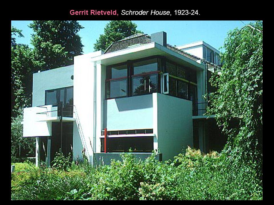 Gerrit Rietveld, Schroder House, 1923-24.
