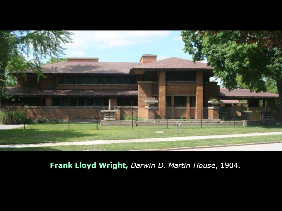 Frank Lloyd Wright, Darwin D. Martin House, 1904.