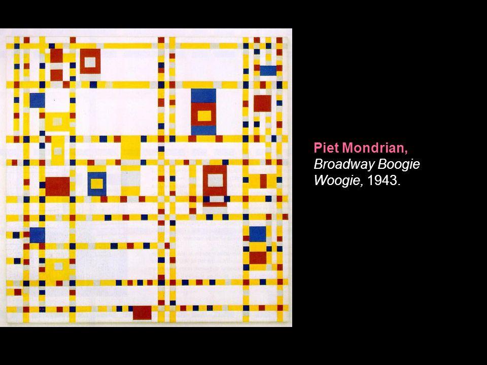 Piet Mondrian, Broadway Boogie Woogie, 1943.