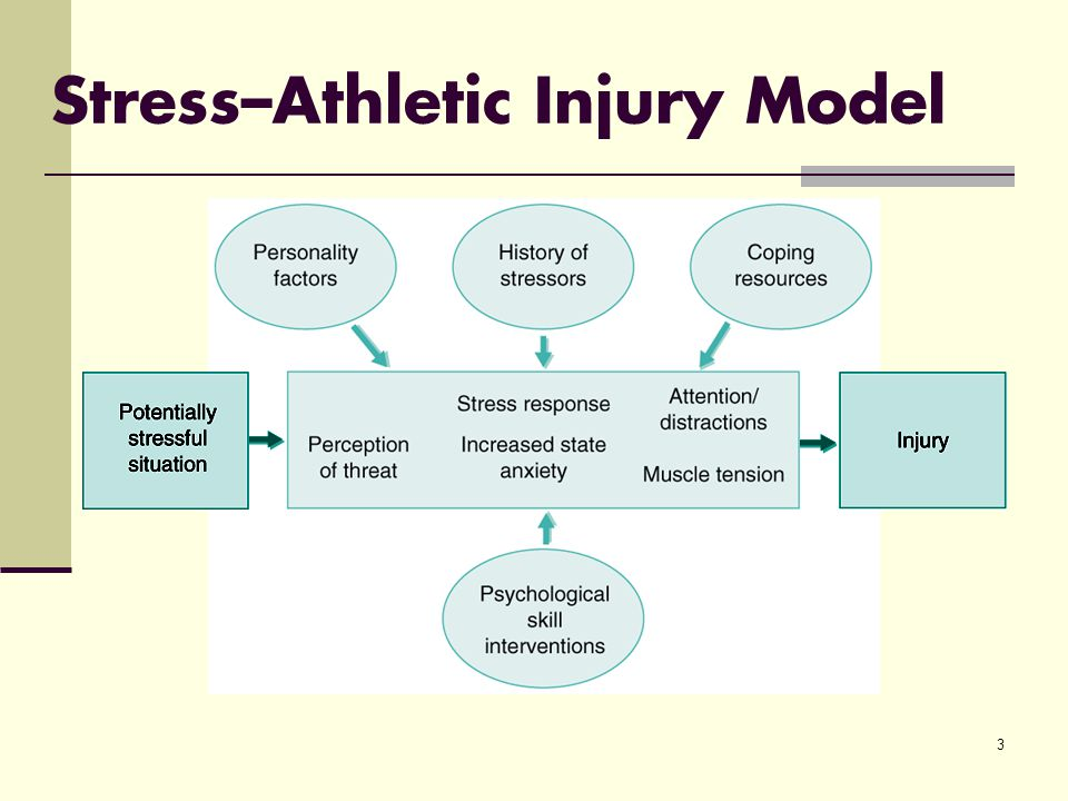 3 Stress–Athletic Injury Model