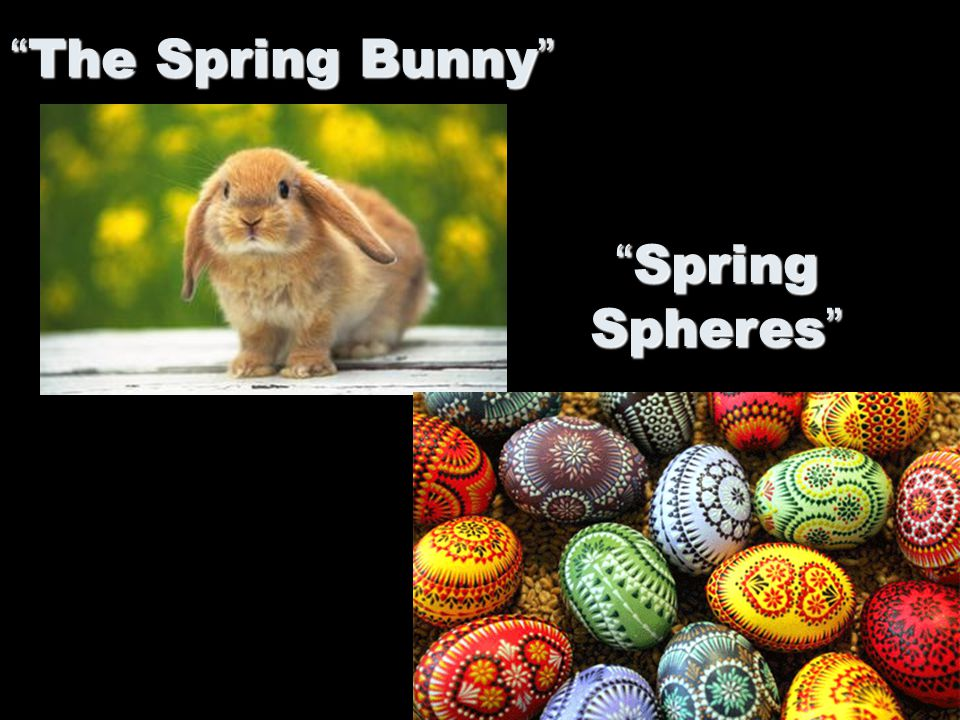 The Spring Bunny Spring Spheres