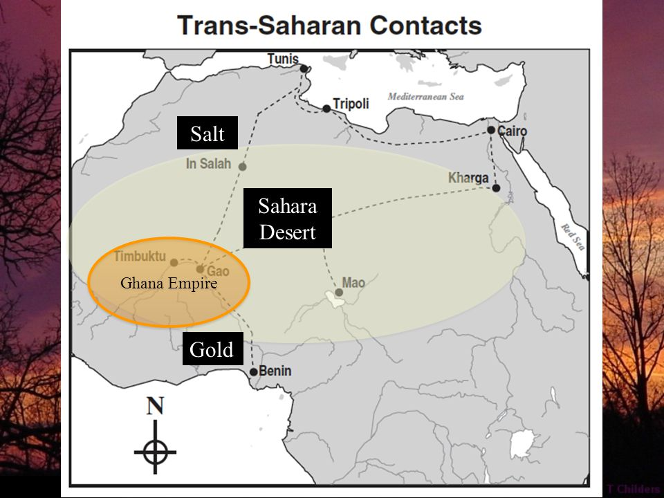 Gold Sahara Desert Salt I will give you some of this worthless salt for some of that valuable gold.