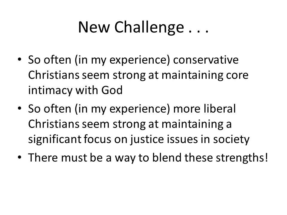 New Challenge...