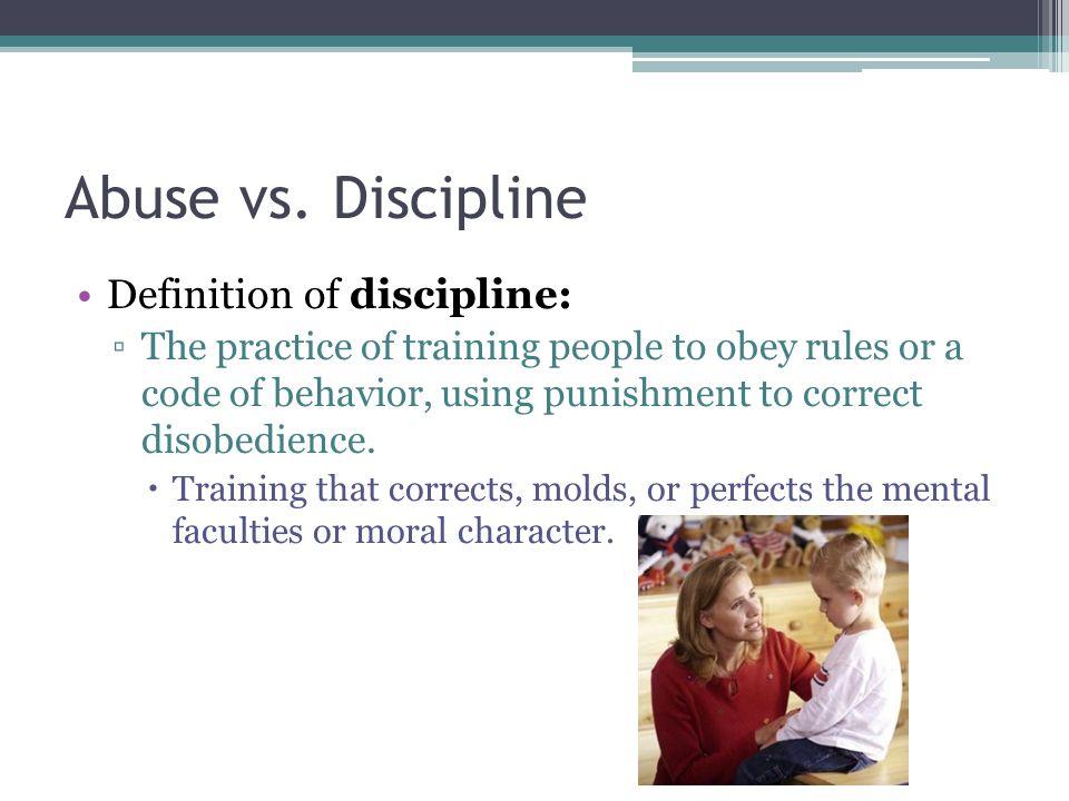 Abuse vs.