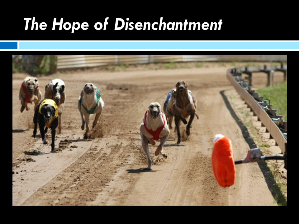 The Hope of Disenchantment