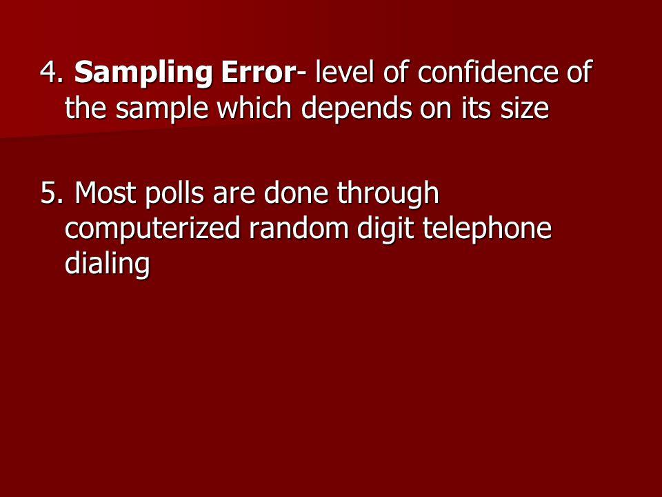 I. Public Opinion Polls A.