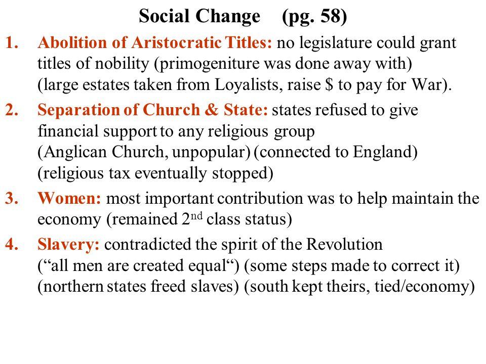 Social Change (pg.