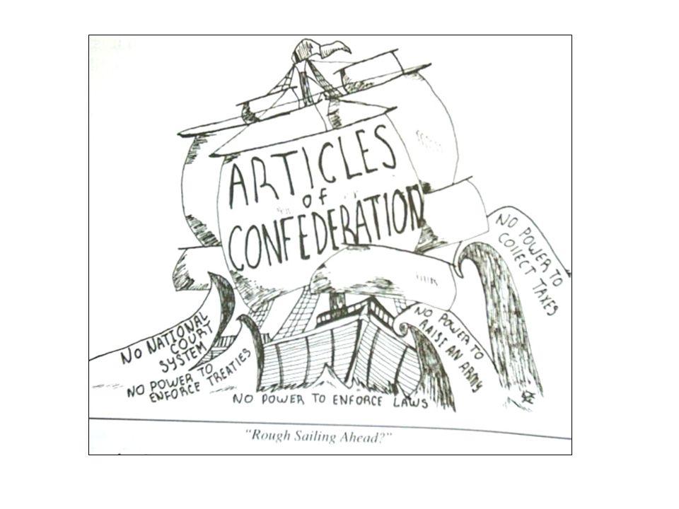 Articles of Confederation (pg.
