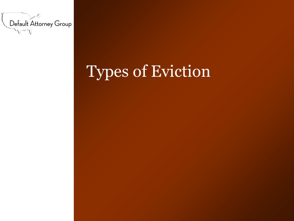 Value and description of property Types of personal property –Worthless property –Property with value –Fixtures –Automobiles Notice of Abandoned Property and/or Notice of Right to Reclaim Property Liability for property and/or trash out