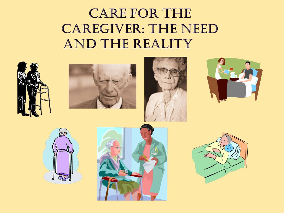 Care for the Caregiver: The Need and the Reality